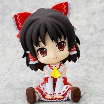 Touhou Project Non Scale Pre-Painted PVC Figure: Hakurei Reimu