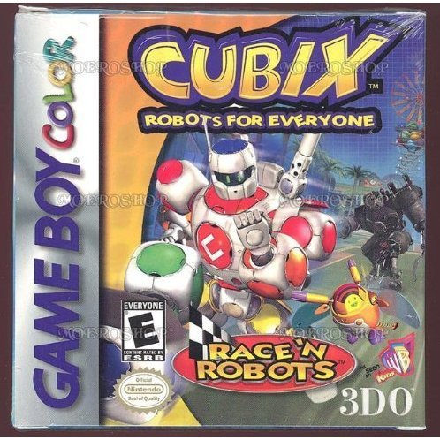 Cubix: Robots For Everyone - Race 'N Robots