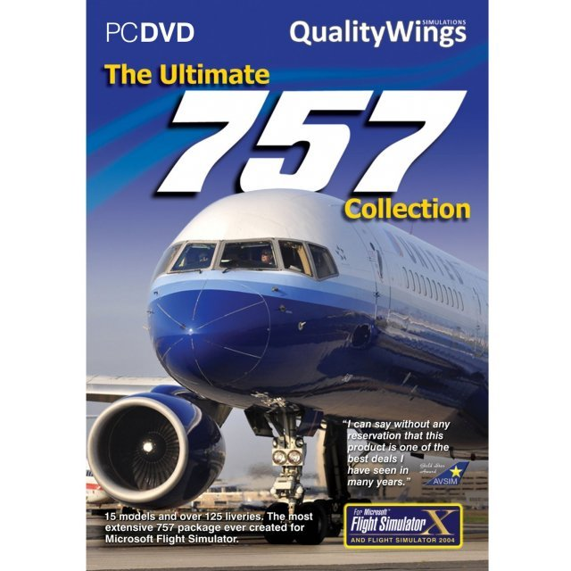 QualityWings Ultimate 757 Collection (DVD-ROM)
