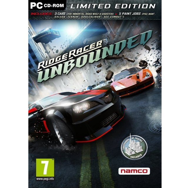 Ridge Racer: Unbounded - Limited Edition (DVD-ROM)