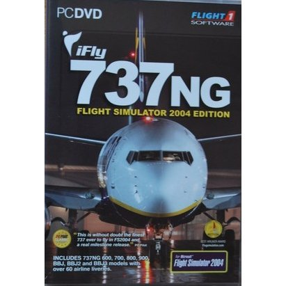 iFly 737NG Flight Simulator 2004 Edition (DVD-ROM)