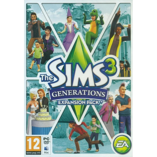 The Sims 3: Generations Expansion Pack (DVD-ROM)