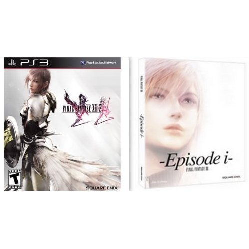 Final Fantasy XIII-2 (Limited Edition with Episode I Hardcover Novella Book)