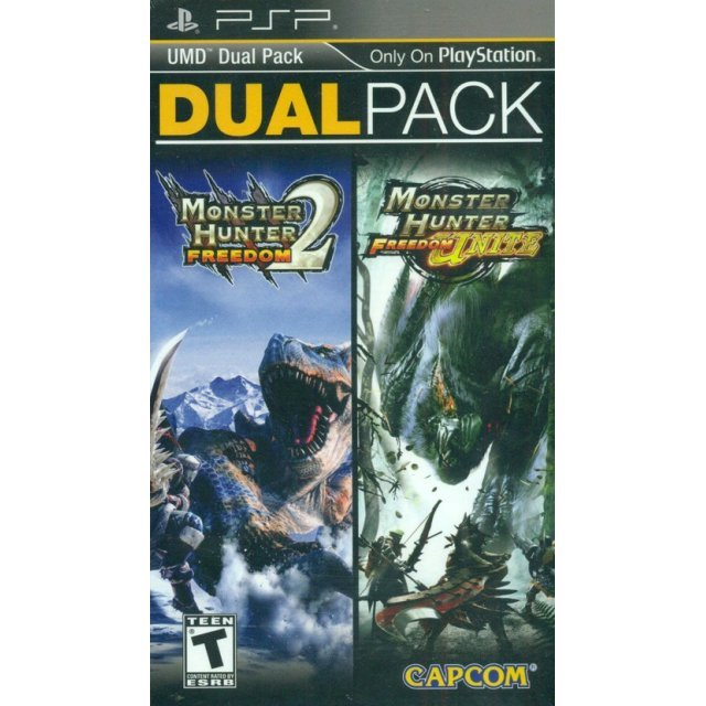 Monster Hunter Freedom 2 + Monster Hunter Freedom Unite UMD Dual Pack
