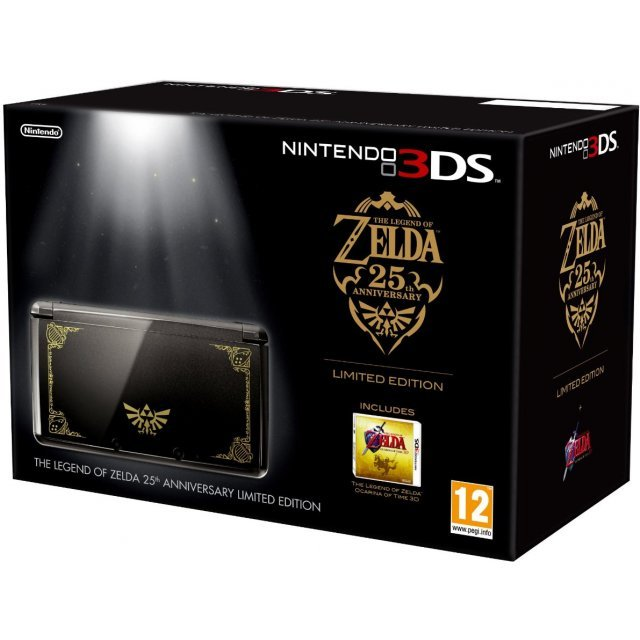 Nintendo 3DS (The Legend of Zelda 25th Anniversary Limited Edition)