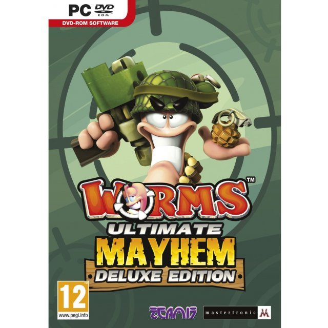 Worms Ultimate Mayhem (Deluxe Edition) (DVD-ROM)