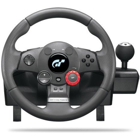 Logitech Driving Force GT Steering Wheel (PS2 & PS3)