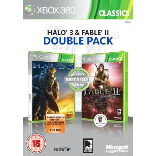 Halo 3 & Fable II Double Pack (Classics)