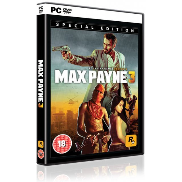 Max Payne 3 (Special Edition) (DVD-ROM)