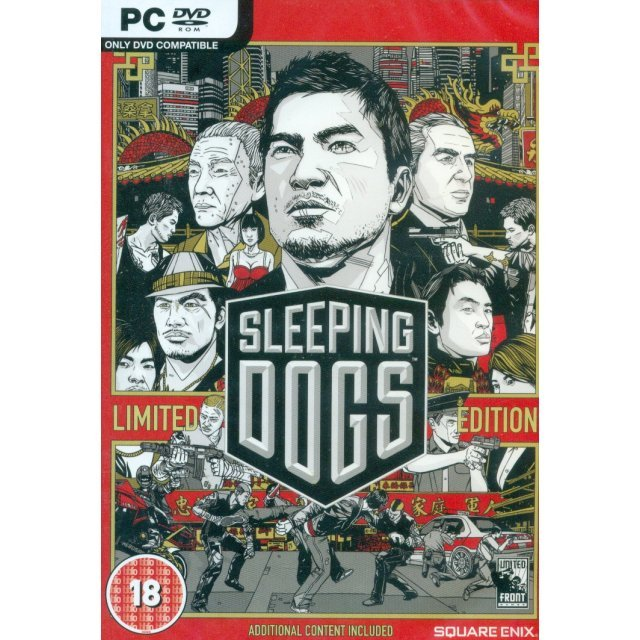 Sleeping Dogs (Limited Edition) (DVD-ROM)