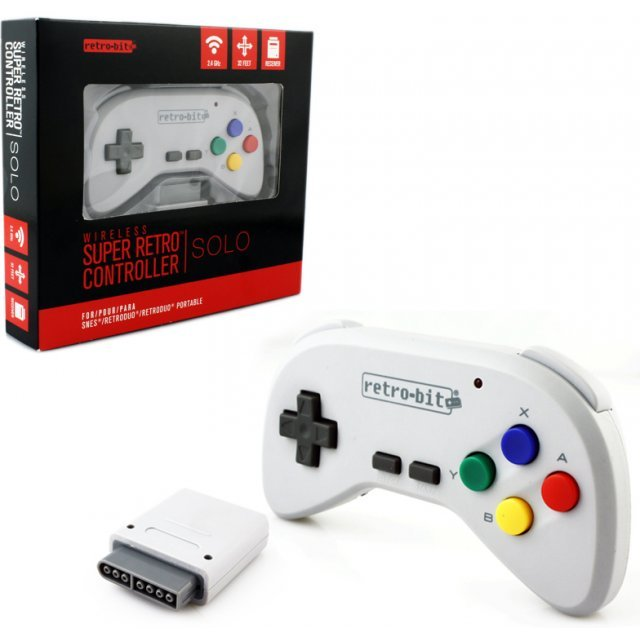 SNES Wireless Controller SuperRetro Controller RetroBit