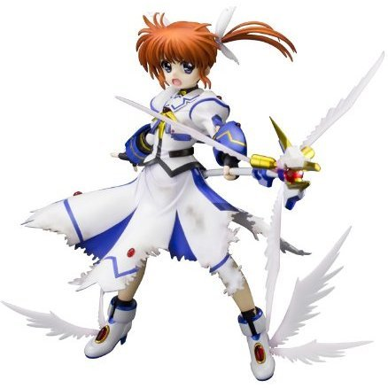 Magical Girl Lyrical Nanoha The Movie 1st 1/8 Scale Pre-Painted  PVC Figure: Takamachi Nanoha -Devotion-
