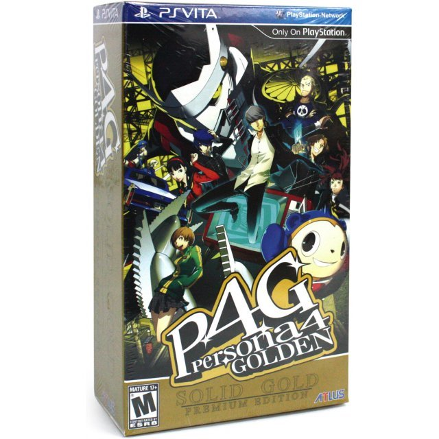 Persona 4: Golden (Solid Gold Premium Edition)