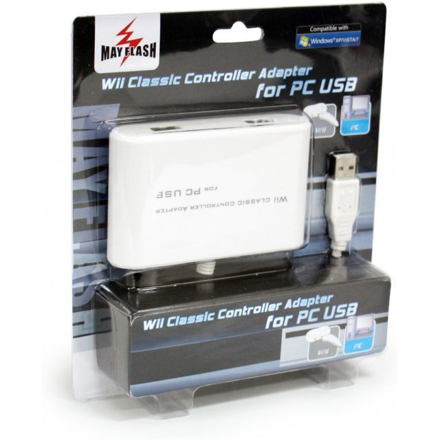 Wii Classic Controller Adapter for PC USB