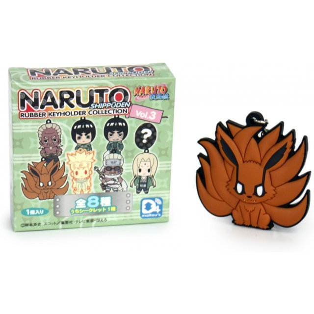 D4 Naruto Shippuden Trading Rubber Key Holder Collection Vol.3