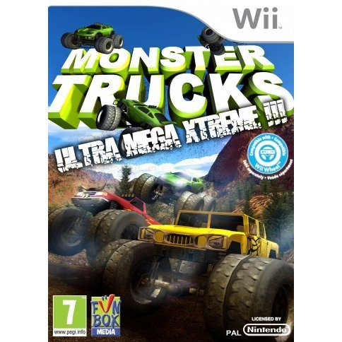 Monster Trucks: Ultra Mega Xtreme!!!
