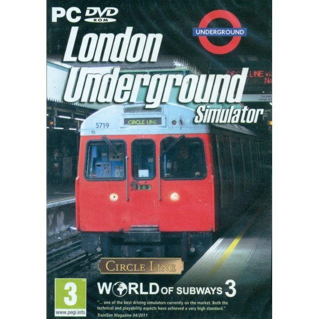 London Underground Simulator: World of Subways 3 (DVD-ROM)