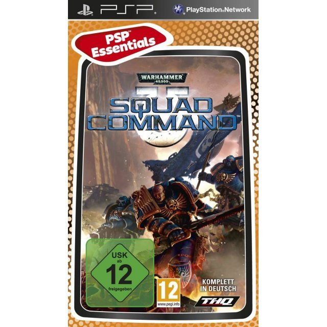Warhammer 40,000: Squad Command (PSP Essentials)