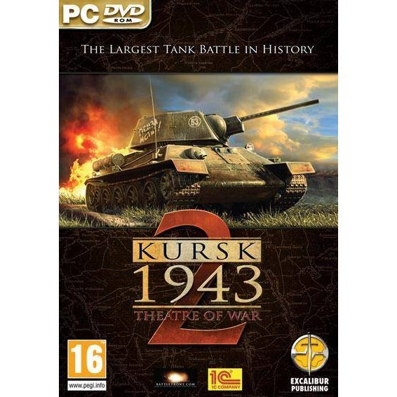 Theatre of War 2: Kursk 1943 (DVD-ROM)