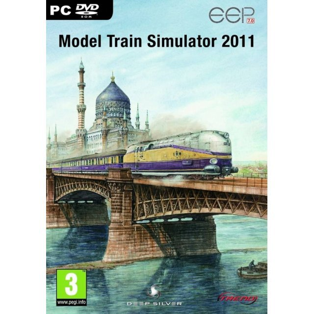 Model Train Simulator 2011 (DVD-ROM)