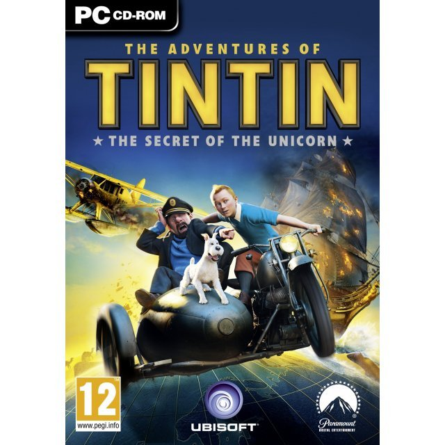 The Adventures of Tintin: The Secret of the Unicorn (DVD-ROM)