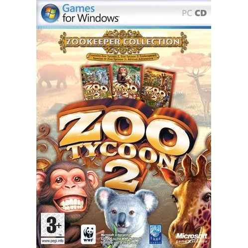 Zoo Tycoon 2: Zookeeper Collection Gold