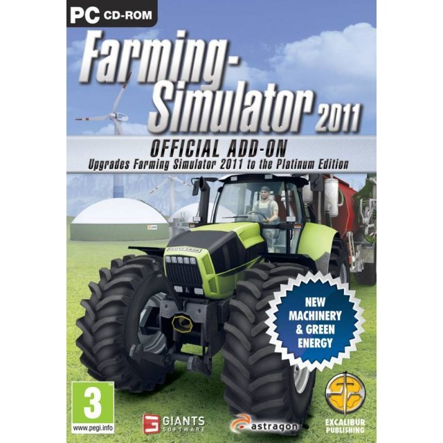 Farming Simulator 2011 (The Platinum Edition) (DVD-ROM)