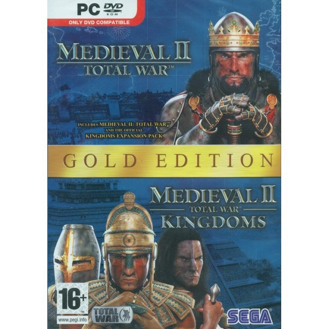 Medieval II Total War: Gold Edition (DVD-ROM)