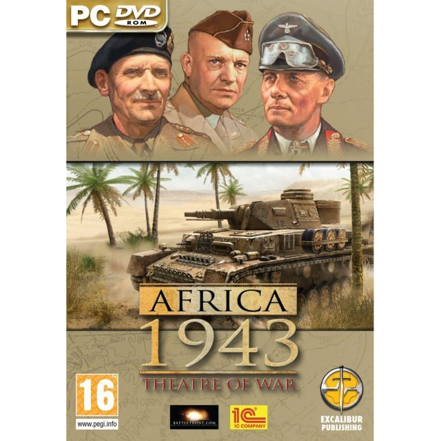 Theatre of War: Africa 1943 (DVD-ROM)