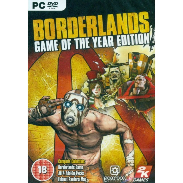 Borderlands: Game Of The Year Edition (DVD-ROM)