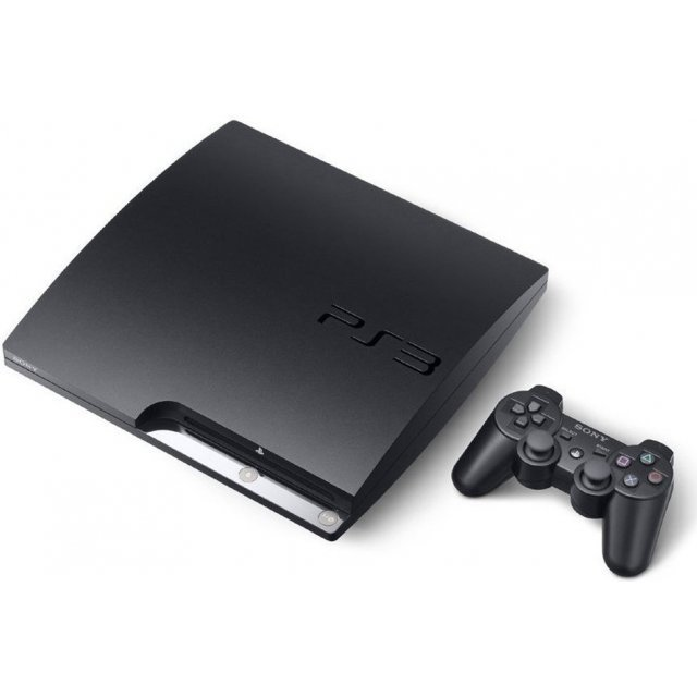 Sony PlayStation 3 Slim Console (320GB - Charcoal Black)