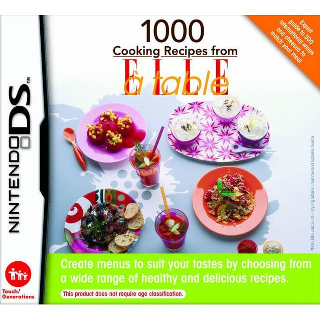 1000 Cooking Recipes From Elle à Table