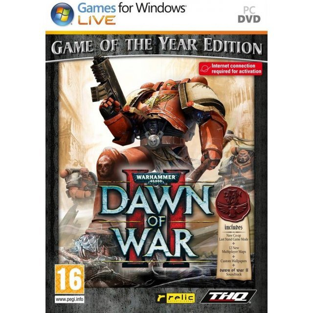 Warhammer 40,000: Dawn of War II (Game of the Year Edition) (DVD-ROM)