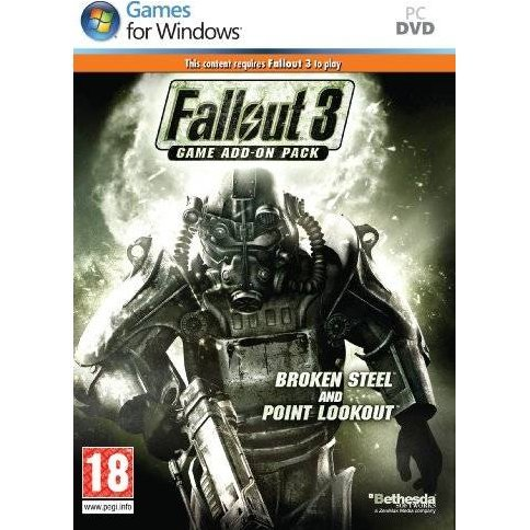 Fallout 3 Game Add-On Pack: Broken Steel and Point Lookout (DVD-ROM)