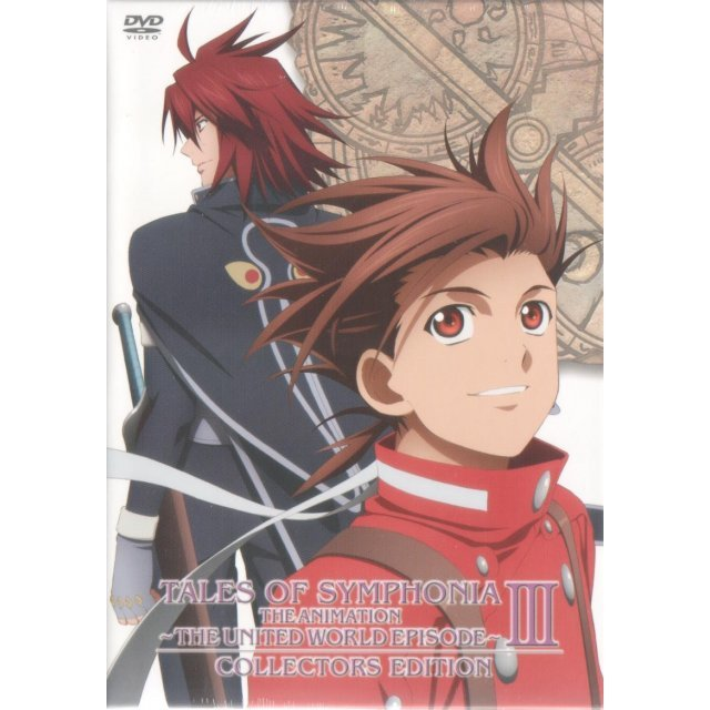 Tales Of Symphonia OVA Sekai Togo Hen Vol.3 Collector's Edition [Limited Edition]