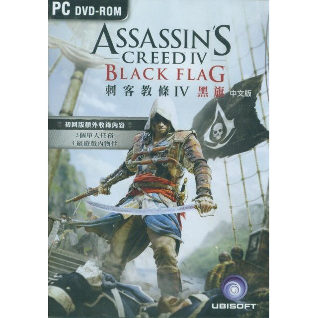 Assassin's Creed IV: Black Flag (Chinese) (DVD-ROM)