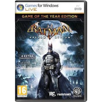 Batman: Arkham Asylum (Game of the Year Edition) (DVD-ROM)