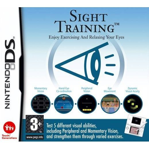 Sight Training: Enjoy Exercising and Relaxing Your Eyes