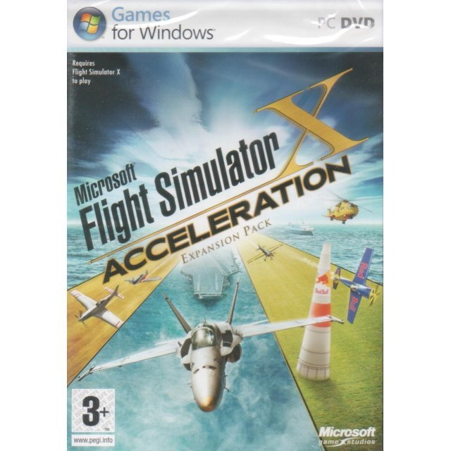 Flight Simulator X: Acceleration (Expansion Pack) (DVD-ROM)