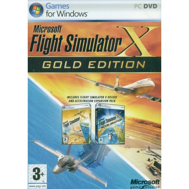 Flight Simulator X: Gold Edition (DVD-ROM)