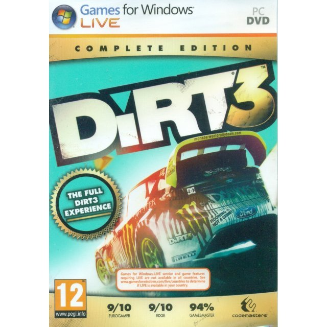 Dirt 3 Complete Edition (DVD-ROM)