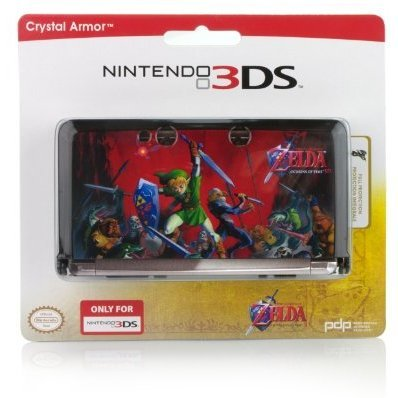 Nintendo 3DS Zelda Crystal Armor Case (Black)