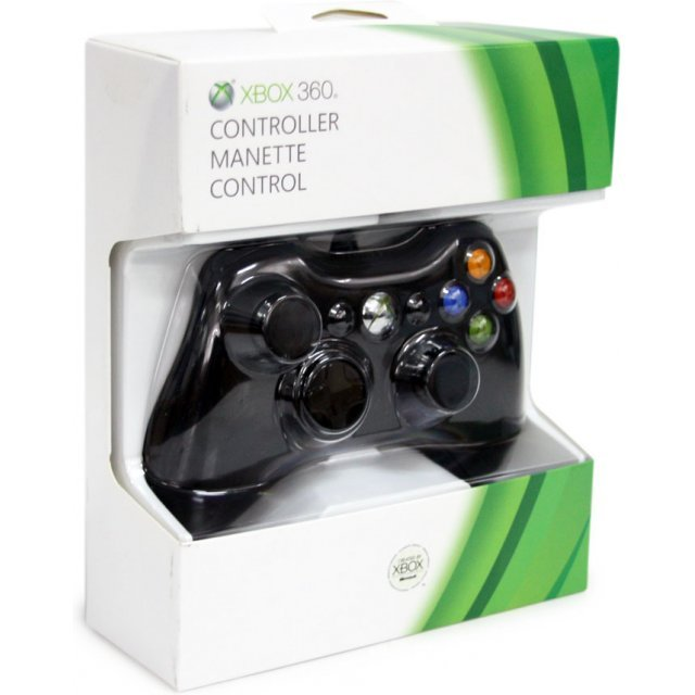 Xbox 360 Wired Controller (Black)