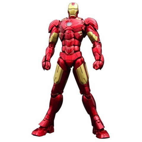 Active Gear Collection 1/9 Scale Pre-Painted PVC Statue: Iron Man Mark 4