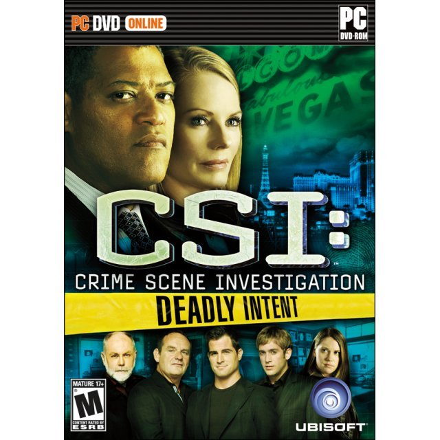 CSI: Deadly Intent (DVD-ROM)