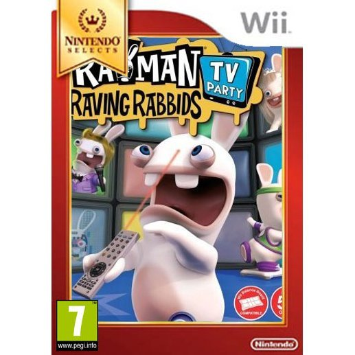 Rayman Raving Rabbids: TV Party (For Balance Board) (Selects)