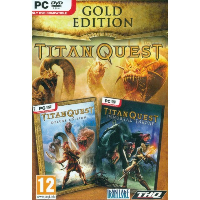 Titan Quest Gold Edition (DVD-ROM)