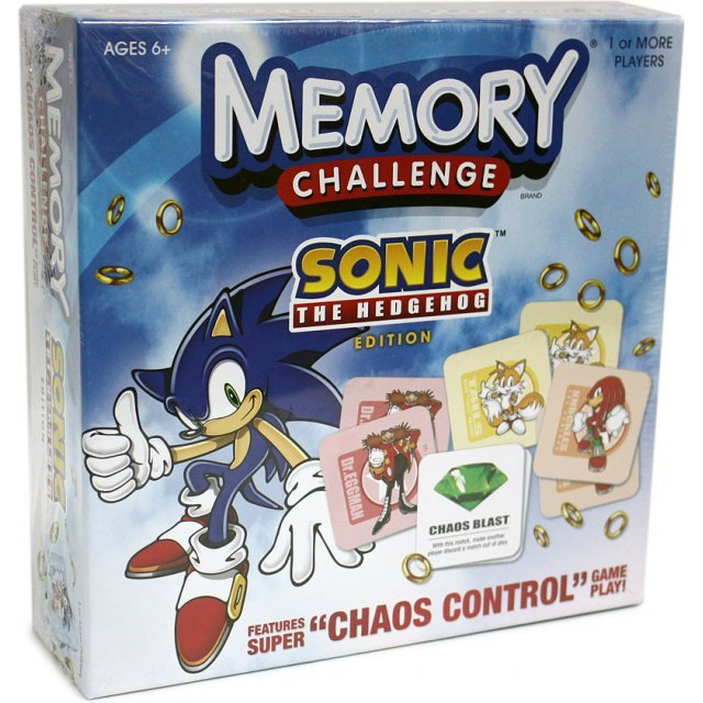 Memory Challenge Sonic the Hedgehog Edition