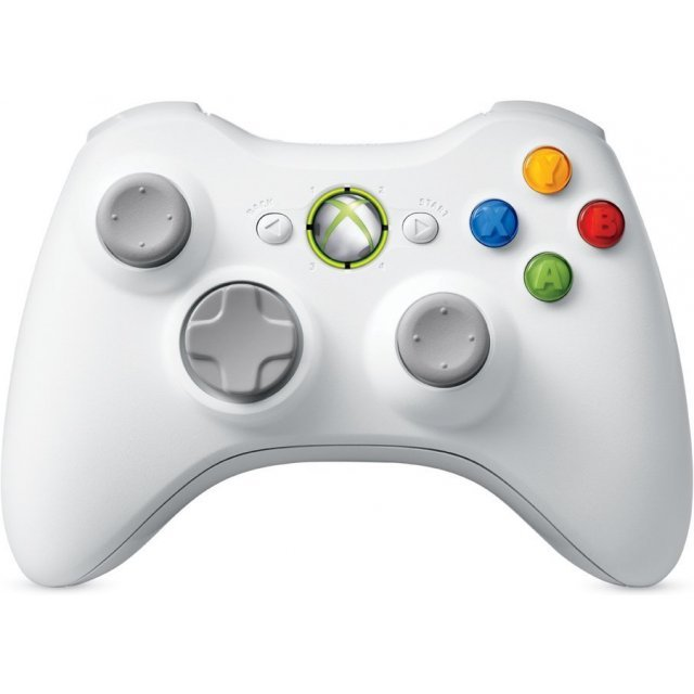 Xbox 360 Special Edition Wireless Controller (White)
