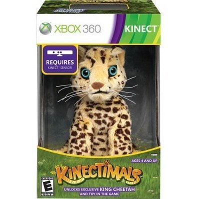 Kinectimals (Limited Edition: King Cheetah)